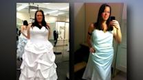 Woman Chronicles Weight Loss in Dressing Room Photos