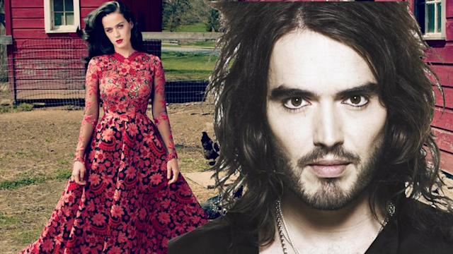 Russell Brand dumped Katy Perry via text