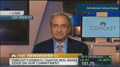 Comcast CEO: TWC merger allows for innovation