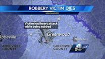 Greenwood Robbery and Heart Attack Death