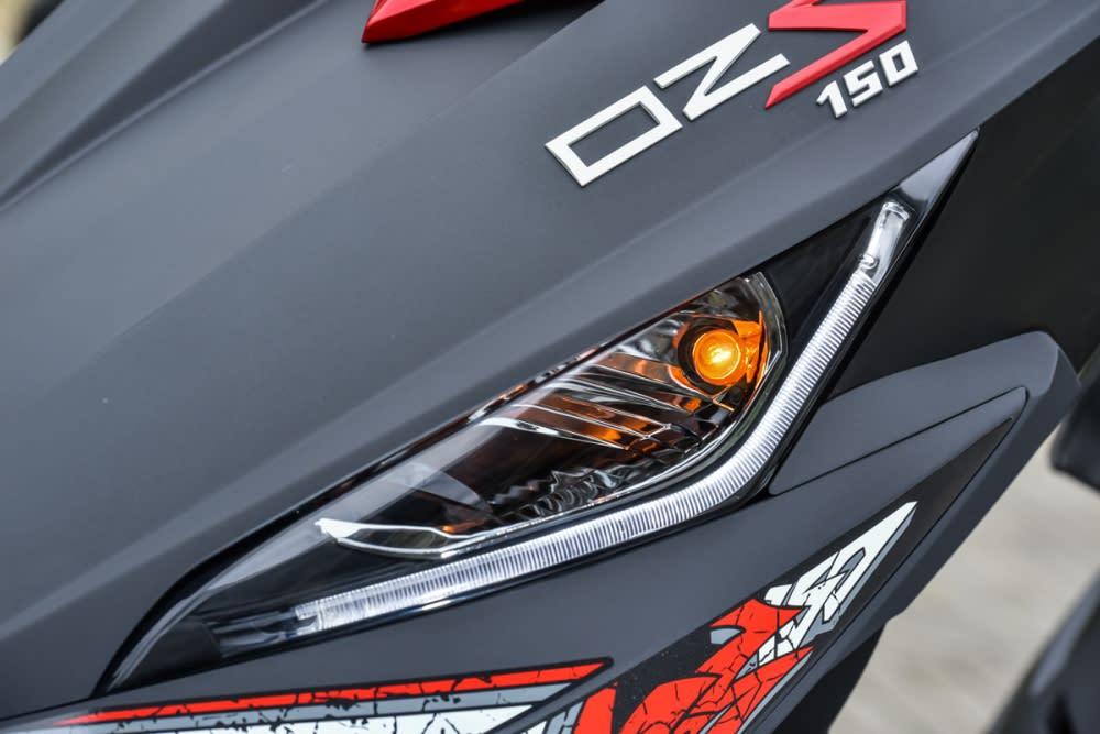 汽車級的導光條定位燈設計。