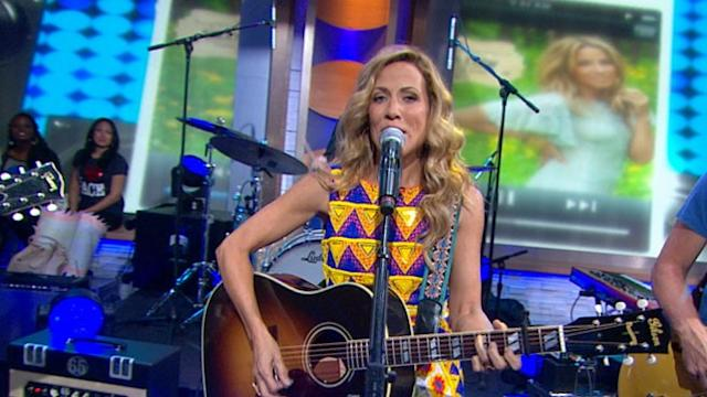 Sheryl Crow Live in Times Square