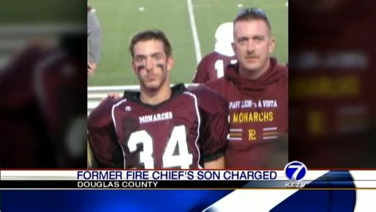 Son of former fire chief accused of rape