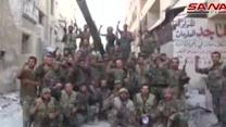 Syrian forces claims victory over rebels in fight near Damascus