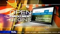Visitor overload site on first day of Obamacare
