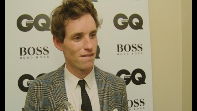 GQ Awards 2013: Eddie Redmayne interview