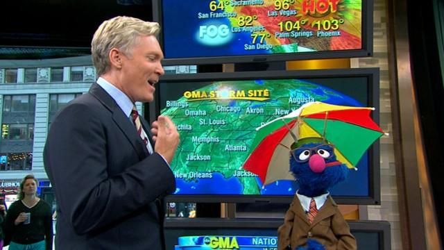 Eager Grover Ready to Help Sam With 'GMA' Weather
