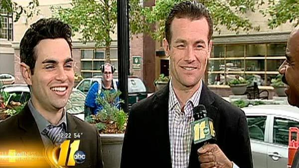 Jersey Boys stop by ABC11