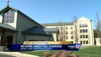 Benedictine monk faces kidnapping, disorderly conduct charges