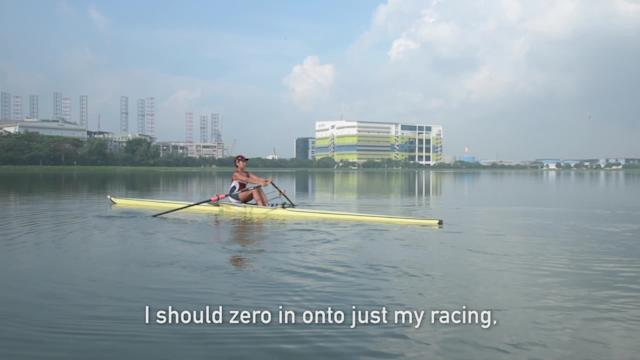 What's next for Aisyah the rower?