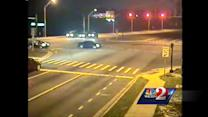 Raw video: Red light runner slams into other vehicle in Apopka