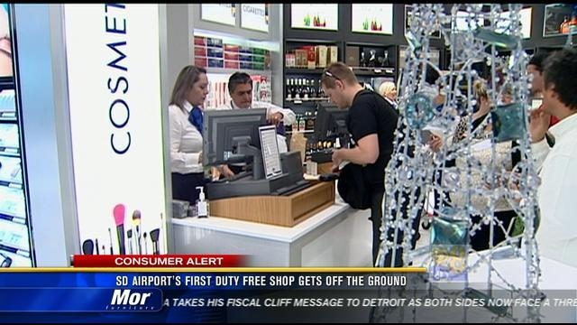 Duty-free shop opens at Lindbergh Field