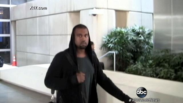 Caught on Tape: Rapper Kanye West Clashes With Paparazzi