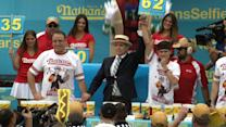 Hot Dog Eating Champion Joey Chestnut Dethroned