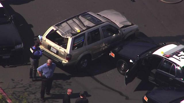 Vallejo police officer shoots suspect after pursuit