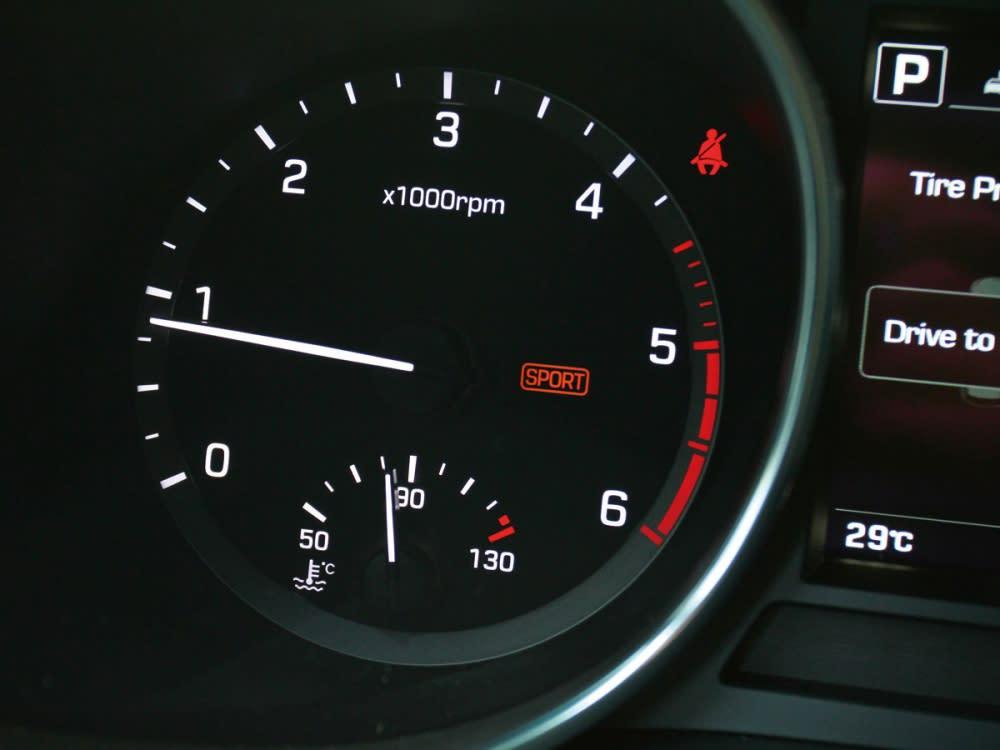 Drive Mode整合駕馭系統提供Eco/Standard/Sport模式可選。