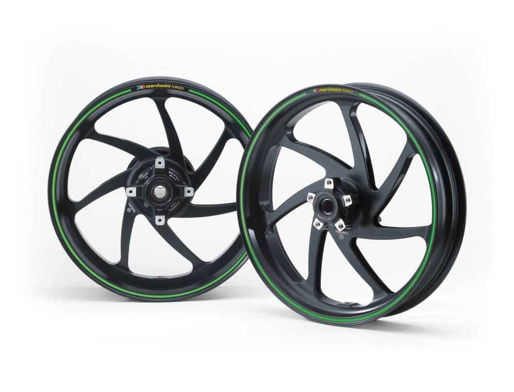 Marchesini 輕量化鍛造輪框。
