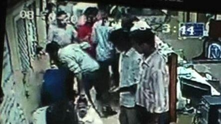 Caught on cam: Girl attacked by jilted lover