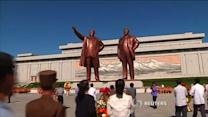 North Koreans commemorate Kim death