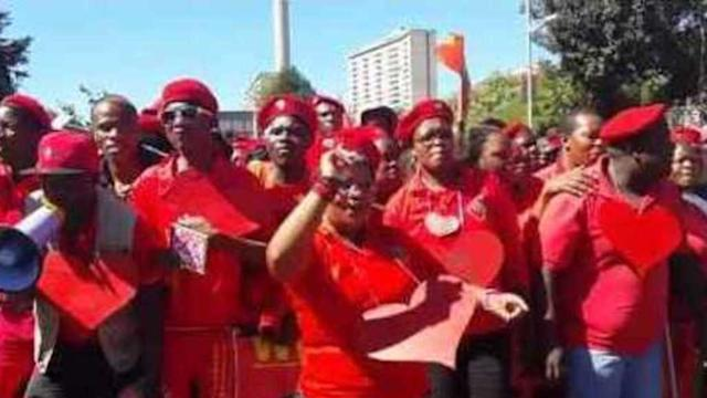 Malema's EFF March to South African Broadcaster Over Election 'Ban'