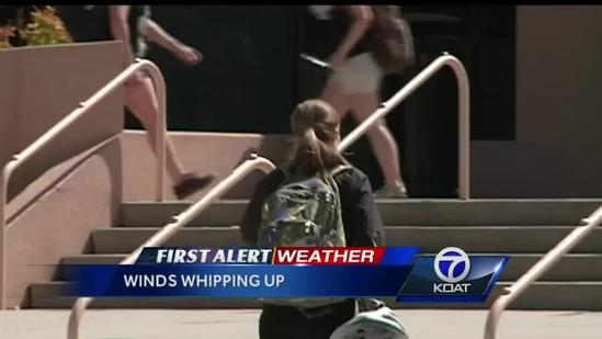 Wind could force motorists to seek alternate routes