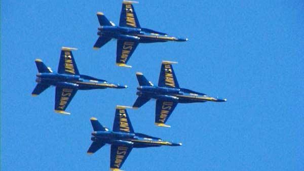Blue Angels at Wings Over Houston