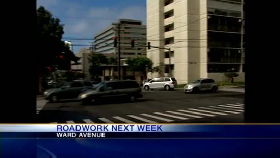 Water crews to work on Ward Ave.