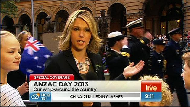 ANZAC Day marches begin