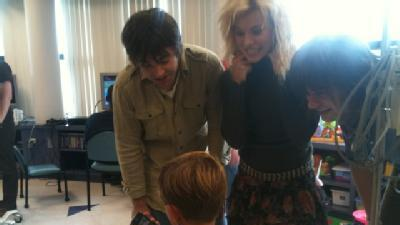 The Band Perry Meets Blair E. Batson Patients