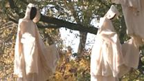 Ghost display at zoo sparks claims of racism