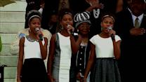 Identity4Pop Performs National Anthem at March on Washington Commemoration