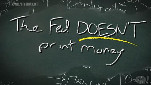 No, the Fed Does NOT 'Print Money': Just Explain It