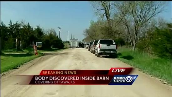 Body discovered in Franklin County barn