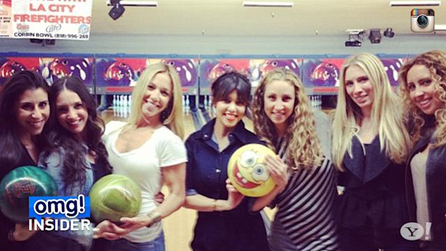 Kourtney Kardashian's 34th Birthday Bowling Bash