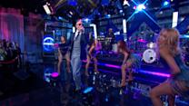 Pitbull Plays 'Timber' Live in Times Square
