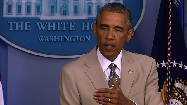 White House attempts damage control after president's ISIS