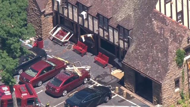 Gas explosion injures at least one at Nyack College