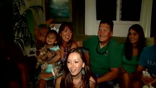 Family sends aloha to dancing celebrity Ingo