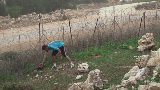 Barcelona send replacement footballs to West Bank village