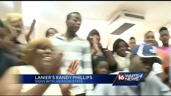 Lanier's Phillips signs with Jackson State
