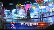 County Fair Opens With Strong Attendance