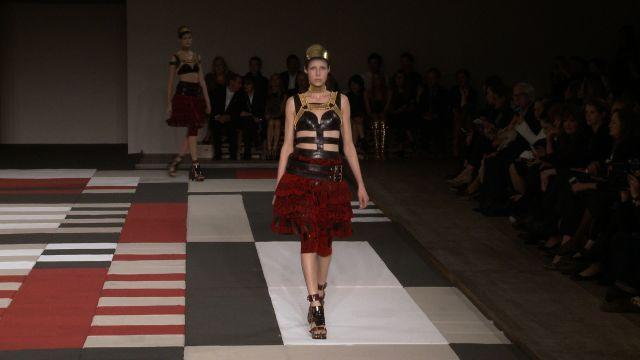Style.com Fashion Shows - Alexander McQueen Spring 2014 Ready to Wear