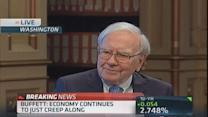 Buffett: Hard time finding things to buy