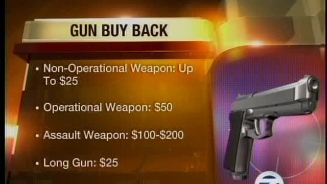 Detroit Police buy back program
