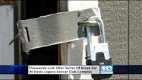 Series Of Break-Ins Investigated At Davis Soccer Club