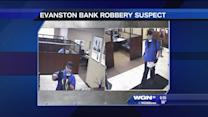 Police search for man who robbed an Evanston bank
