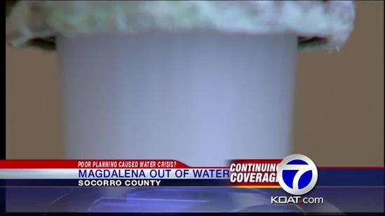 State engineer: Magdalena water crisis was preventable