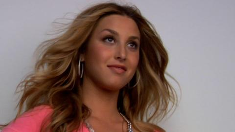 Whitney Port October 2009 Cover Shoot