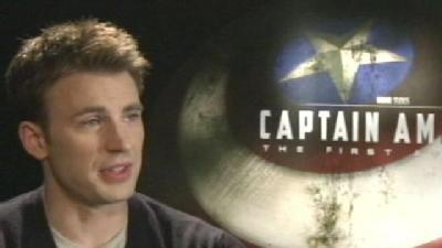 Gino Sits Down With 'Captain America's' Chris Evans