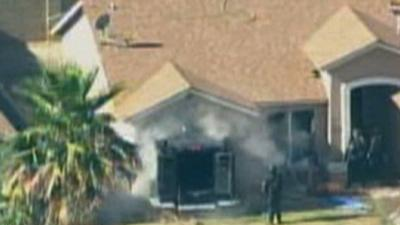 Police Ram House to End Hostage Standoff